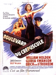 boulevard du crépuscule,sunset boulevard,billy wilder,gloria swanson,stroheim,william holden