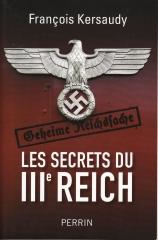 les secrets du 3ème reich,françois kersaudy