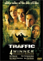 Traffic, Soderbergh, Michael Douglas, Don Cheadle, Benicio Del Toro, Dennis Quaid, Catherine Zeta-Jones