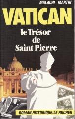 vatican,le trésor de saint pierre,malachi martin
