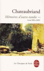 mémoires d'outre-tombe, chateaubriand,Napoléon