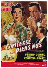 la comtesse aux pieds nus,the barefoot contessa,mankiewicz,bogart,ava gardner,edmond o'brien,marius goring,valentina cortesa,rossano